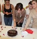Chantal Andere festejó su cumpleaños