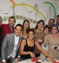 Chantal Andere festejó su cumpleaños con el elenco de La mujer del vendaval