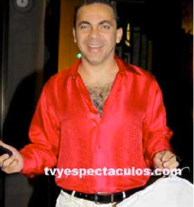 Disco de la banda de rock de Cristian Castro a la venta 25 de febrero