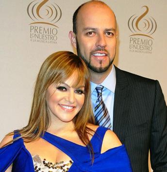 Esteban Loaiza y Jenni Rivera