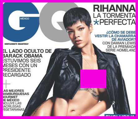 Rihanna En Revista GQ