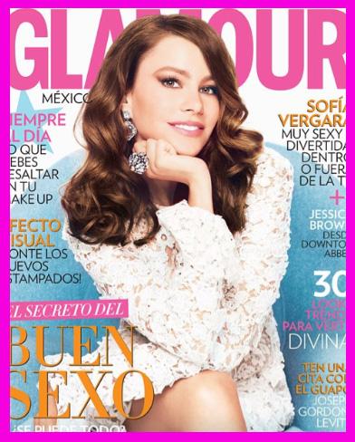 Sofía Vergara en Revista Glamour