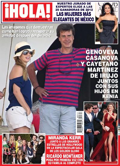 Las Mujeres más elegantes del 2012 en México en la Revista ¡HOLA!