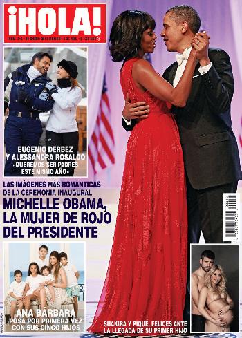 Ana Bárbara posó por primera vez con sus cinco hijos para la revista ¡HOLA!