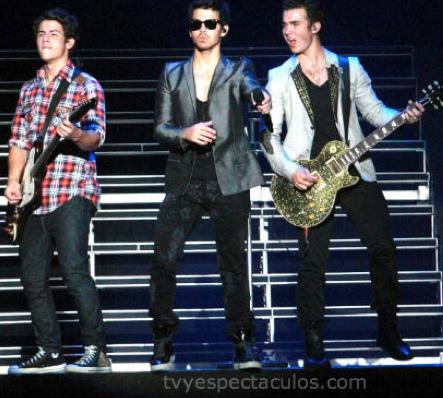 Jonas Brothers 22 de febrero en Palacio de los Deportes