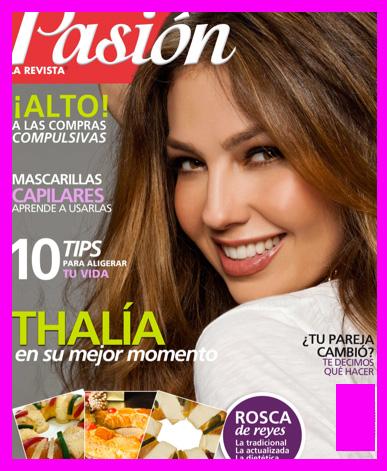 Thalía en la Revista Pasión