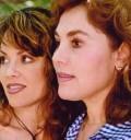 Tatiana y su mamá Diana Perla