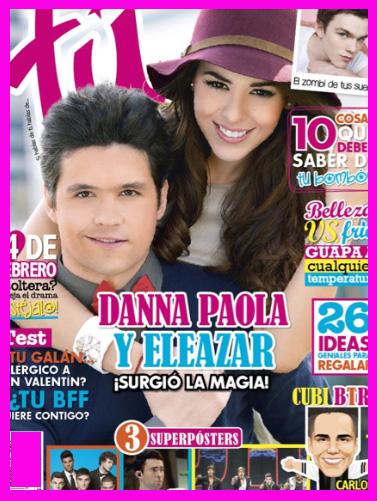 Danna Paola y Eleazar Gómez en Revista Tú