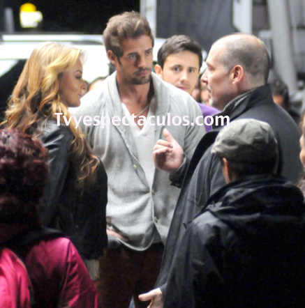 William Levy y Angelique Boyer grabaron comercial