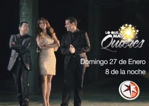 Lo que más quieres Inicia 27 de enero por Televisa
