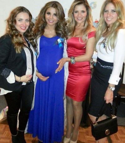 Celebró Aleida Nuñez baby shower con famosas