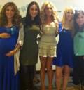 Baby Shower de Aleida Nuñez con famosas