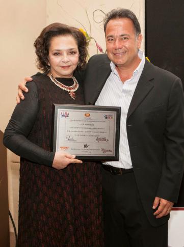 Homenaje a Ana Martin por 50 años de trayectoria