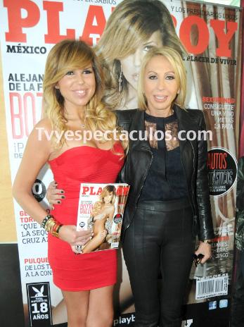 Laura Bozzo apoya la presentación de su hija en Playboy