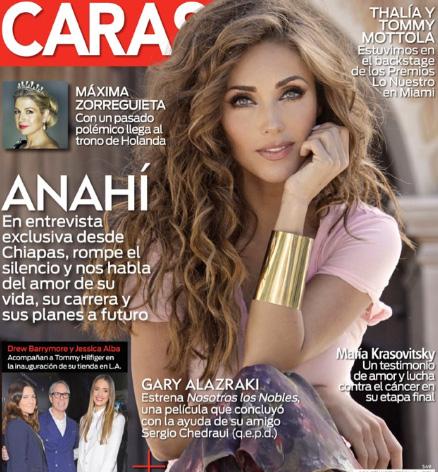 Anahí en Revista Caras