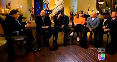 Don Francisco reúne a la familia de Jenni Rivera para rendirle un homenaje