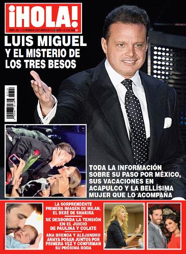 Luis Miguel en Revista ¡HOLA!