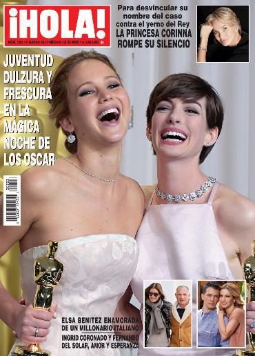 Ingrid Coronado y Fernando del Solar en Revista ¡HOLA!