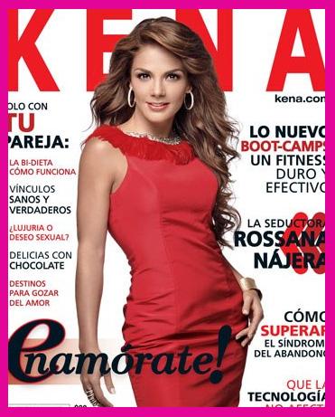 Rossana Nájera en Revista Kena