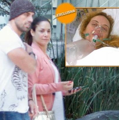Liz Vega se casó con un golpeador