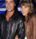Michel Brown y su esposa