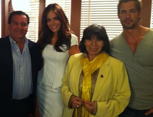 Ximena Navarrete Protagonista de La Tempestad con William Levy