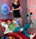 Paul Stanley y Silvia Olmedo en Amor-Didas