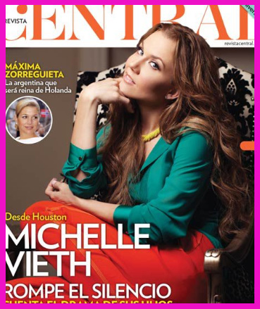 Michell Vieth en Revista Central