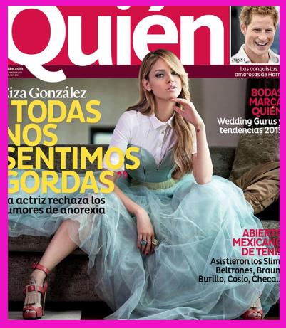 Eiza González en Revista Quién