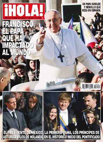 Enrique Peña Nieto y Angélica Rivera visitan al Papa Franciso