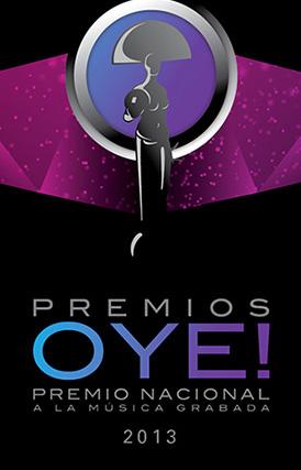 Lista de nominados de los Premios OYE 2013