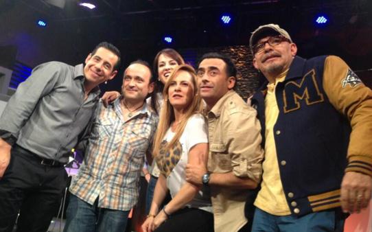 Celebró Yordi Rosado el sexto aniversario de Está Cañón con sus ex compañeros de Otro Rollo