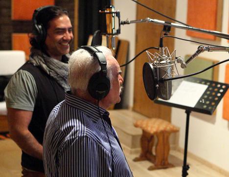 Alejandro Fernández grabó dueto con Vicente Fernández