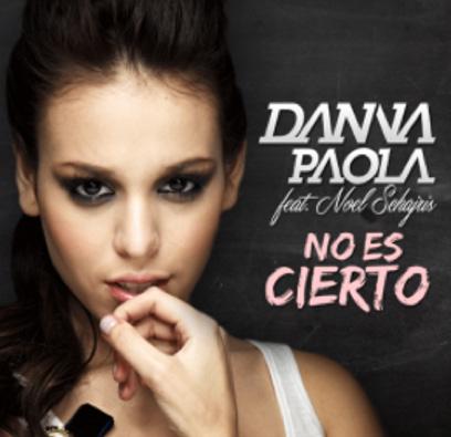 Danna Paola grabó el Video No es cierto con Noel Schajris