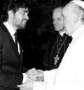 Eduardo Verastegui con el Papa Francisco