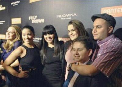 Familia de Jenni Rivera se reúne en el estreno de la película donde participó La Diva de la Banda