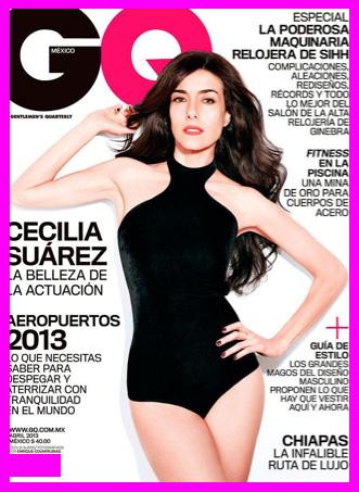 Cecilia Suárez en Revista GQ