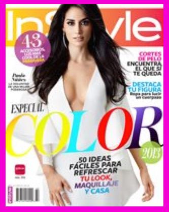 Paola Núñez en Revista InStyle