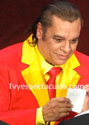 Juan Gabriel en los Premios Tvynovelas 2013