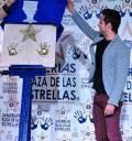 José Ron plasmó huellas en Plaza de las Estrellas