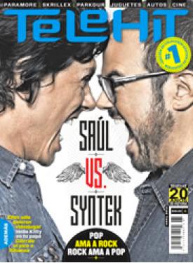Primer número de la Revista Telehit con Aleks Syntek y Saúl Hernández