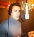 David Zepeda grabando disco