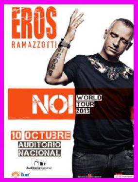 Eros Ramazzotti en Auditorio Nacional 10 de octubre