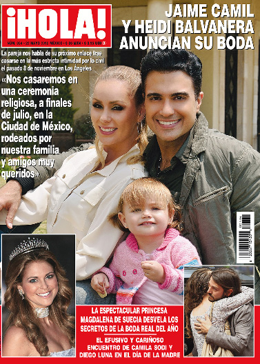 Jaime Camil se casa con Heidi Balvanera