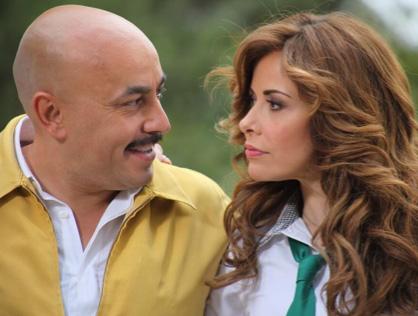 Gloria Trevi y Lupillo Rivera en Libre para amarte