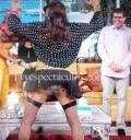 Raúl Araiza vestido de mujer en Hoy