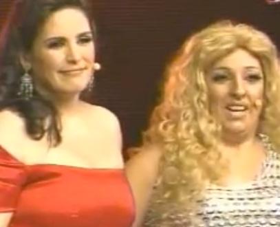 Expulsada de Parodiando Lorena Rodríguez