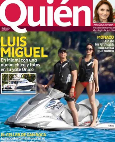 Luis Miguel captado con nueva conquista en Miami