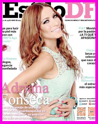 Adriana Fonseca en Estilo DF