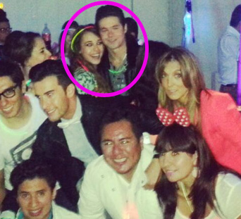 Danna Paola festeja su cumple con Eleazar Gomez